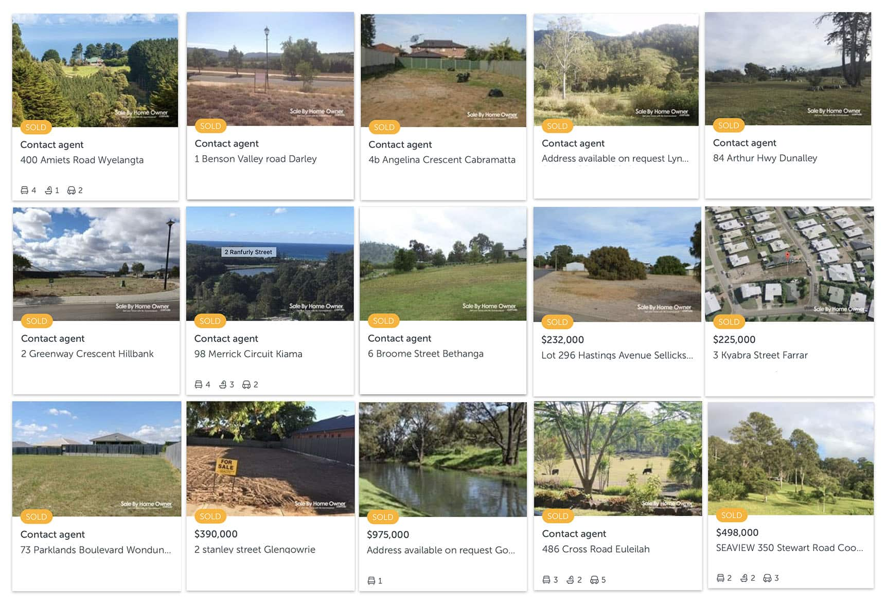 selling land privately - Selling my land